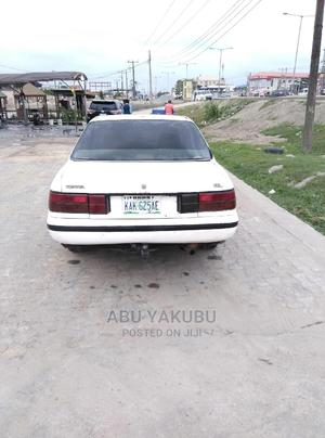 Toyota Carina 1990 1.6 G FWD Sedan White | Cars for sale in Lagos State, Ajah