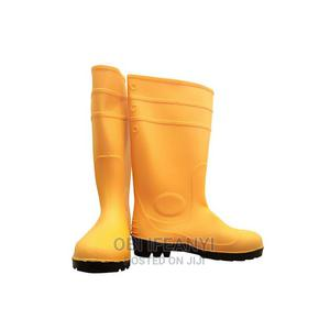 PVC Steel Toe Waterproof Rubber Rain Boots/ Work Boots   Safetywear & Equipment for sale in Lagos State, Lagos Island (Eko)