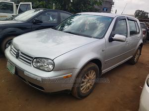 Volkswagen Golf 2003 1.6 Silver   Cars for sale in Lagos State, Ifako-Ijaiye