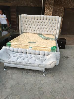 6 by 6 Upholstery Bed(Complete Set) | Furniture for sale in Lagos State, Lekki