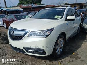 Acura MDX 2015 White   Cars for sale in Lagos State, Apapa
