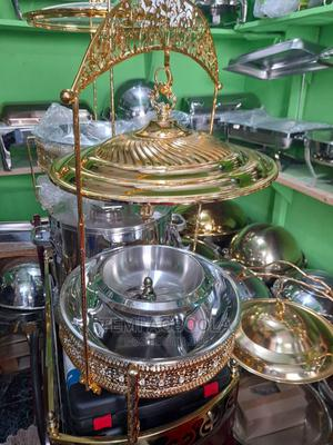 Gold Luxury Chaffing Dish | Party, Catering & Event Services for sale in Lagos State, Lagos Island (Eko)