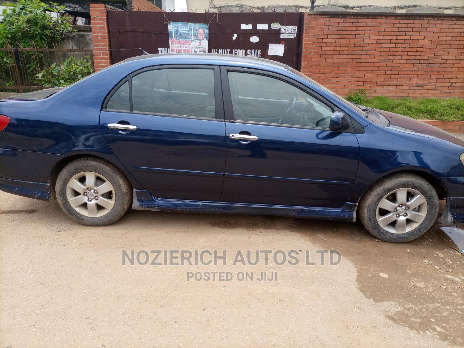 Toyota Corolla 2007 S Blue | Cars for sale in Isolo, Lagos State, Nigeria