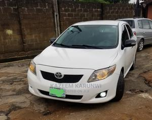 Toyota Corolla 2009 1.8 Advanced White   Cars for sale in Lagos State, Alimosho