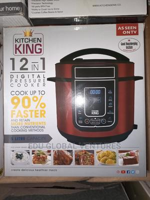 Kitchen King 12 in 1 Digital Pressure Cooker. | Kitchen Appliances for sale in Lagos State, Ojo