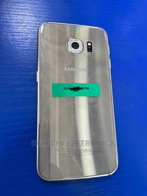 Samsung Galaxy S6 edge 32 GB Gold   Mobile Phones for sale in Lagos State, Ikeja