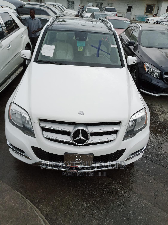 Mercedes-Benz GLK-Class 2015 White