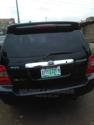 Toyota Highlander 2003 Limited V6 FWD Black | Cars for sale in Lagos State, Ikeja