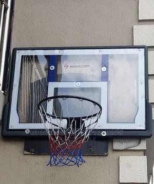 Wall Mounted Fibre Glass Basketball Post   Sports Equipment for sale in Lagos State, Ikeja