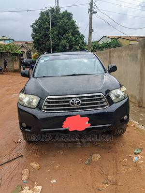 Toyota Highlander 2008 Sport Black | Cars for sale in Lagos State, Ikorodu
