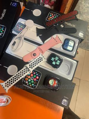 Smart Watch W78 Pro Series 7 New Smart Watch   Smart Watches & Trackers for sale in Lagos State, Ikeja