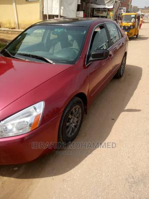 Honda Accord 2005 2.0 Comfort Automatic Red | Cars for sale in Kano State, Gwale