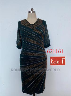 Elegant Female Quality Stoned Fitted Dress | Clothing for sale in Lagos State, Ikeja
