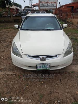 Honda Accord 2005 Automatic White   Cars for sale in Nasarawa State, Lafia