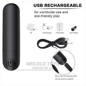 10 Speed Rechargeable Bullet Vibrator With 10 Speeds | Sexual Wellness for sale in Oyo State, Ibadan