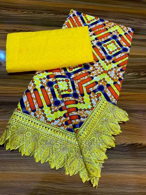 Ankara and Lace With Lace Edges   Clothing for sale in Rivers State, Port-Harcourt