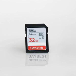 Sandisk Ultra 32GB Class 10 SDHC UHS-I Memory Card Up to 80M | Accessories for Mobile Phones & Tablets for sale in Abuja (FCT) State, Wuse