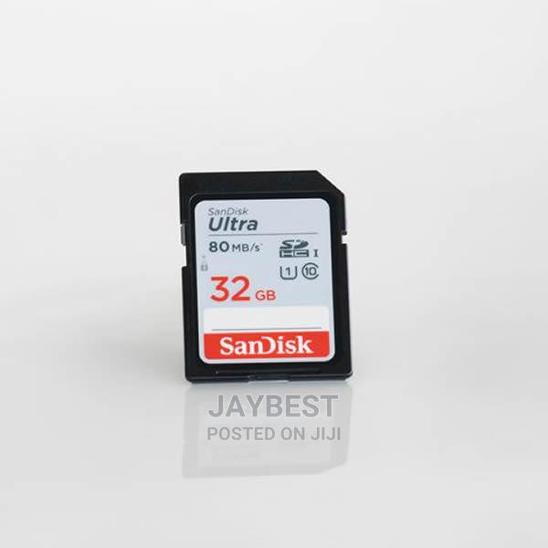 Archive: Sandisk Ultra 32GB Class 10 SDHC UHS-I Memory Card Up to 80M