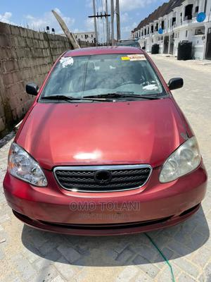 Toyota Corolla 2007 CE Red | Cars for sale in Lagos State, Lekki