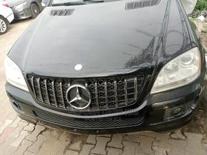Mercedes-Benz M Class 2007 ML 350 4Matic Black   Cars for sale in Lagos State, Lekki