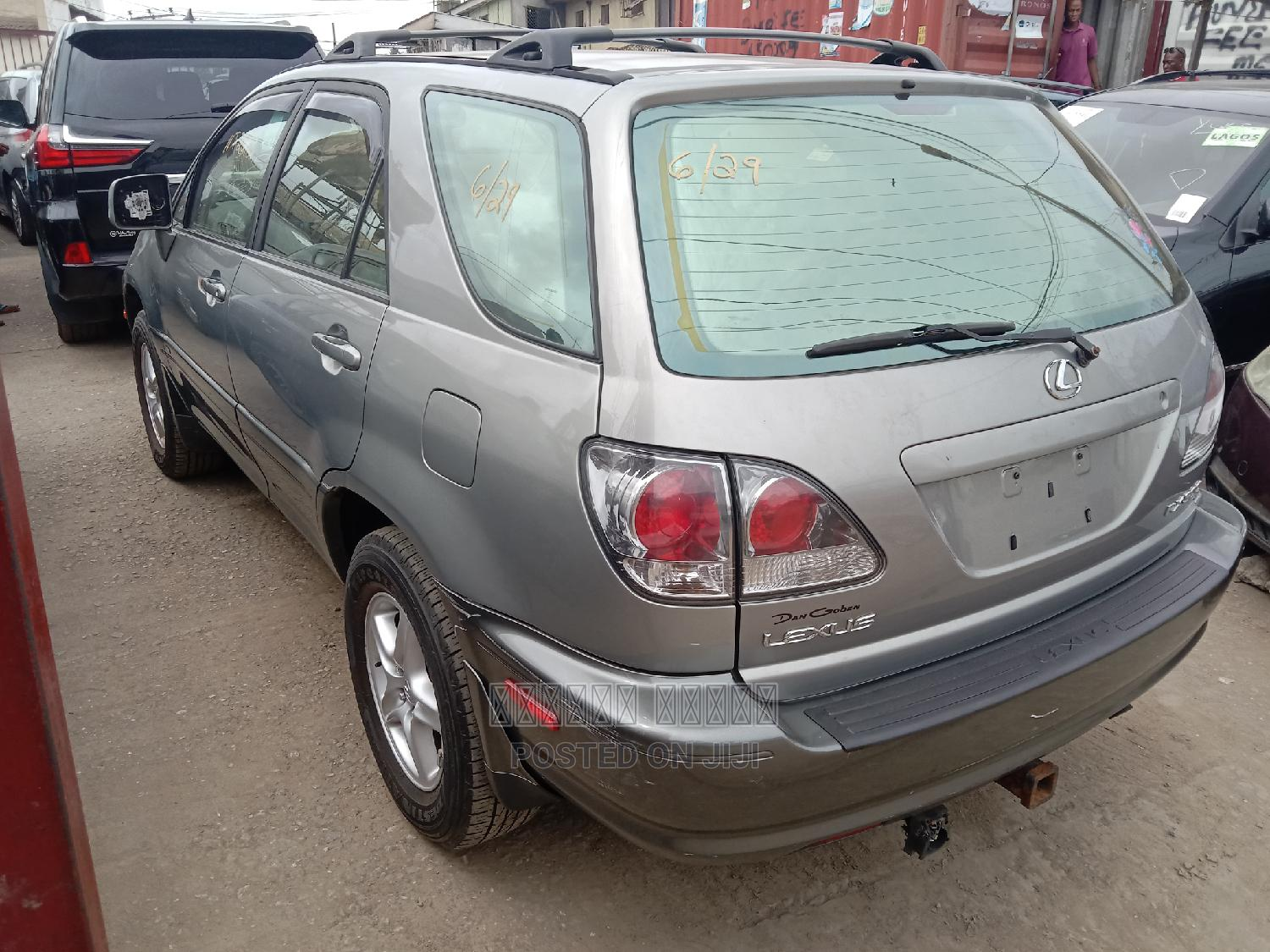 Lexus RX 2002 300 4WD Silver | Cars for sale in Apapa, Lagos State, Nigeria