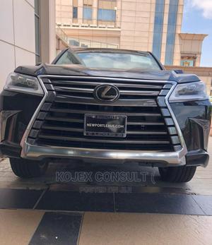 New Lexus LX 2021 570 AWD Black   Cars for sale in Lagos State, Victoria Island