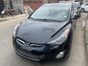 Hyundai Elantra 2013 Black   Cars for sale in Lagos State, Mushin