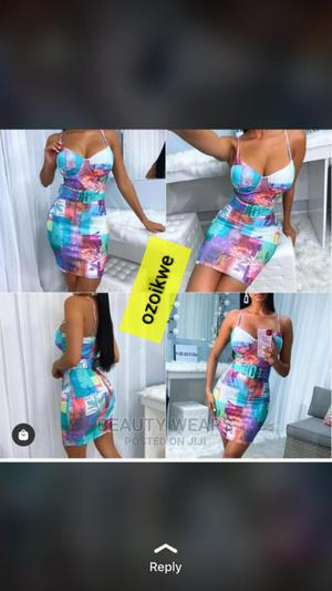 Quality Ladies Fitted Short Gown | Clothing for sale in Lagos State, Ikeja