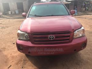 Toyota Highlander 2005 V6 4x4 Red | Cars for sale in Ogun State, Obafemi-Owode