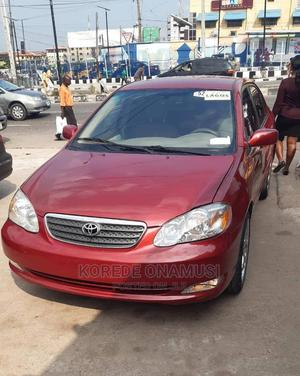 Toyota Corolla 2007 Red   Cars for sale in Lagos State, Gbagada