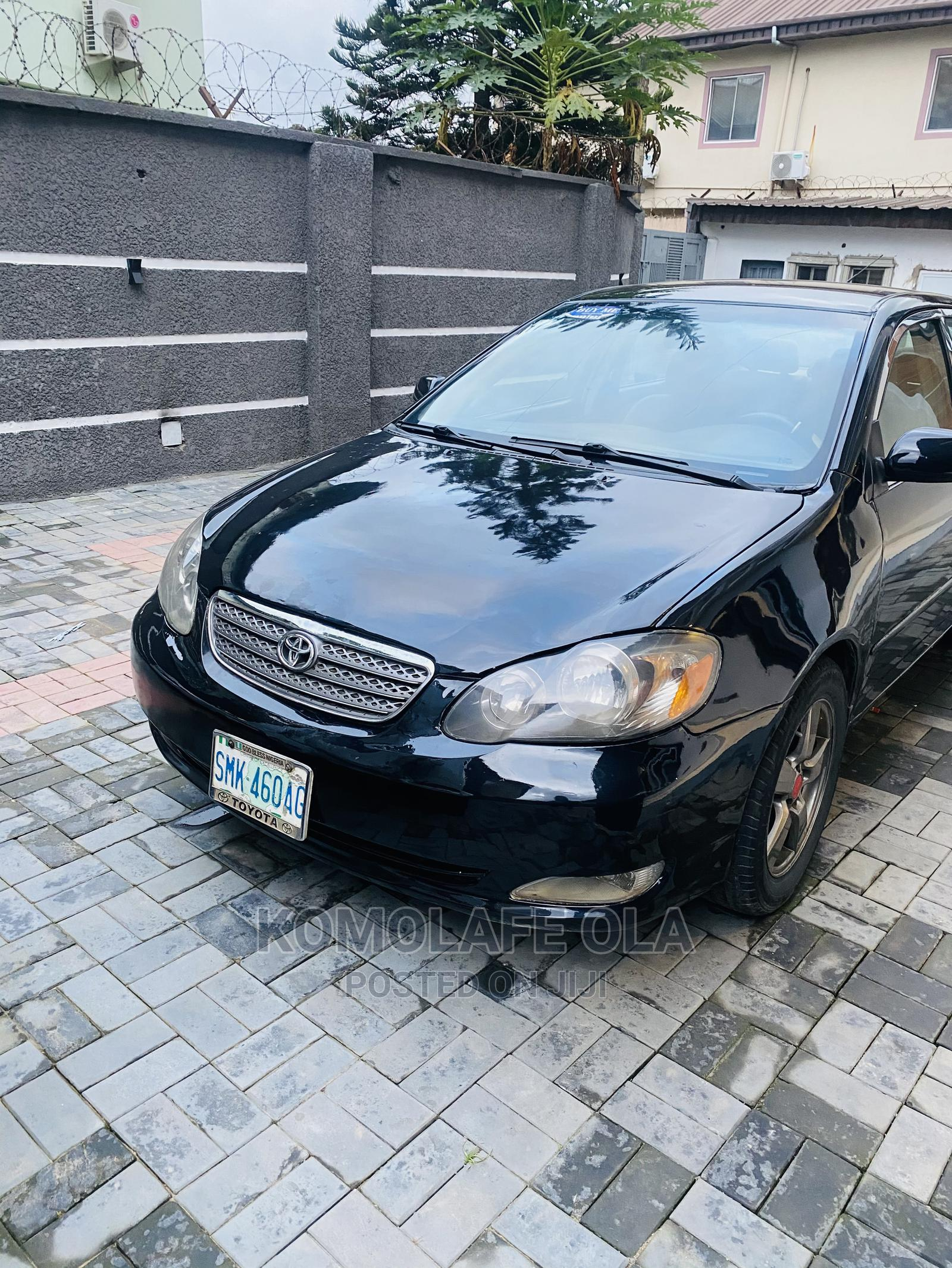 Toyota Corolla 2005 Black | Cars for sale in Surulere, Lagos State, Nigeria