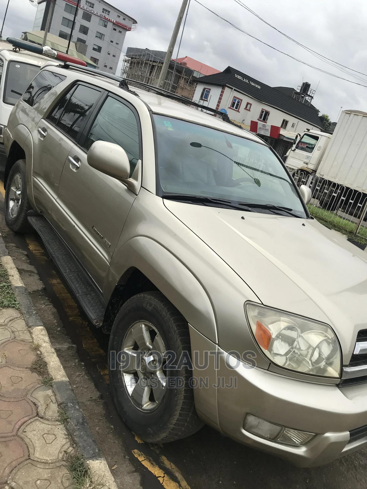 Archive: Toyota 4-Runner 2006 Limited 4x4 V6 Gold