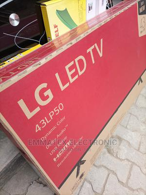 Original LG LED TV 43 Inches With 2 Yrs Warranty | TV & DVD Equipment for sale in Lagos State, Surulere
