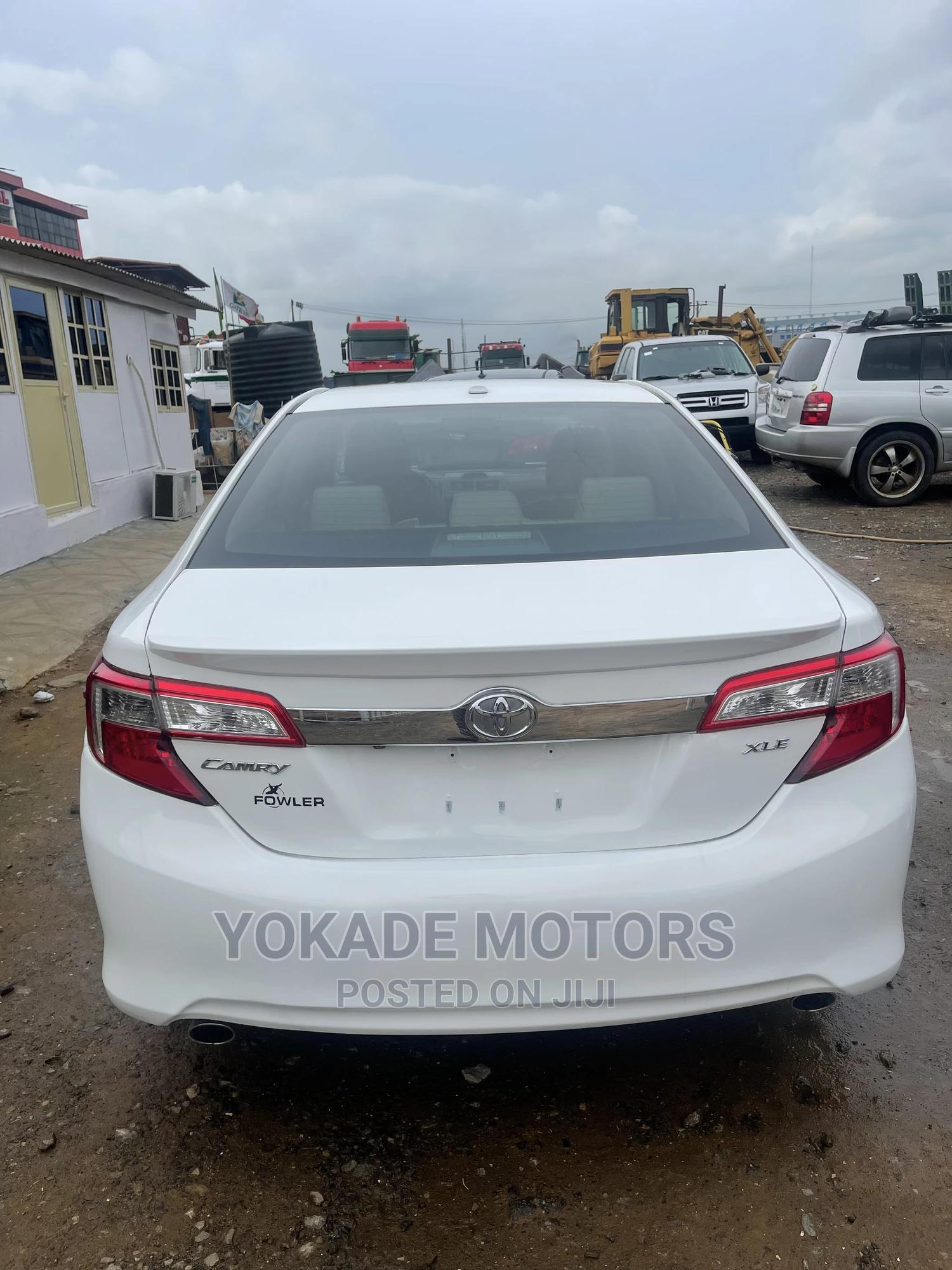 Toyota Camry 2012 White   Cars for sale in Ojodu, Lagos State, Nigeria