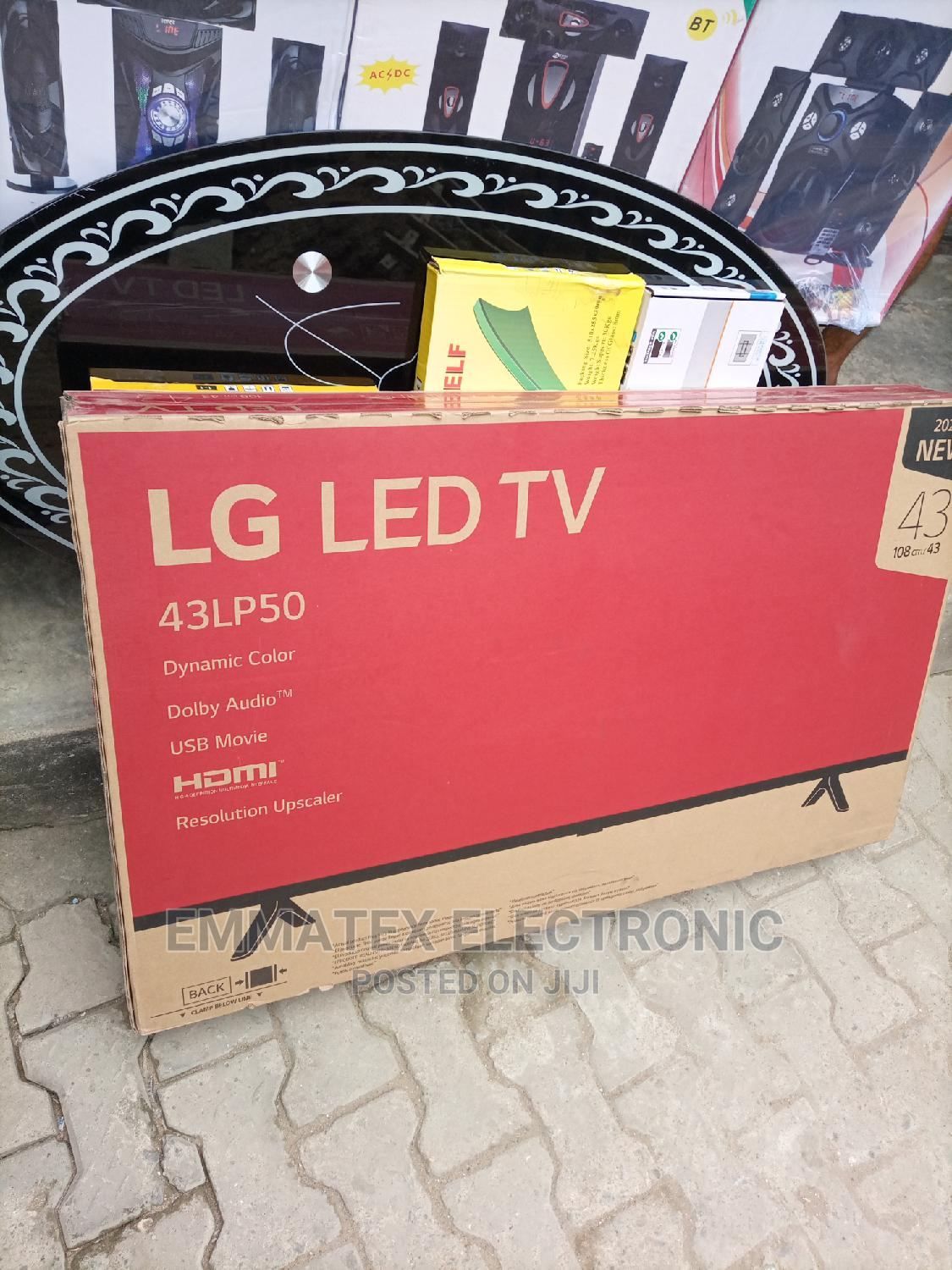 LG LED TV Original 43 Inches Television With 2 Years Warrant