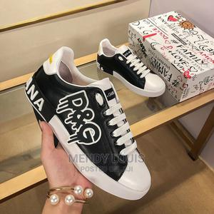 D&G Canvas Sneaker Available As Seen Order Yours   Shoes for sale in Lagos State, Lagos Island (Eko)