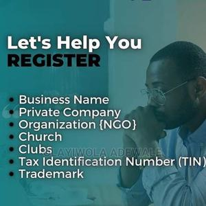 Register Your Business/Company With Accredited CAC Agent. | Tax & Financial Services for sale in Lagos State, Ikeja