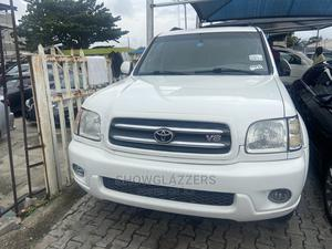 Toyota Sequoia 2003 White | Cars for sale in Lagos State, Ajah