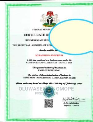 Business Registration With CAC | Legal Services for sale in Lagos State, Agboyi/Ketu