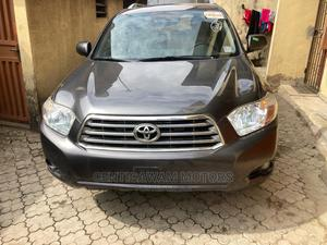 Toyota Highlander 2008 Limited 4x4 Gray | Cars for sale in Lagos State, Ikeja