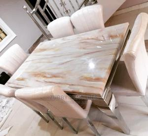 New Imported Marble Dining Table | Furniture for sale in Lagos State, Ikeja
