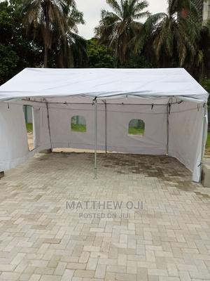 14ft by 18ft Locally Fabricated Galvanize Canopy Tent | Garden for sale in Lagos State, Agege
