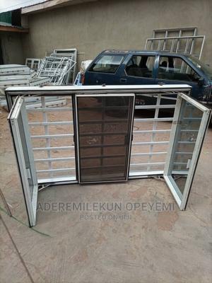 Transoms Window With Burglary | Windows for sale in Oyo State, Ibadan