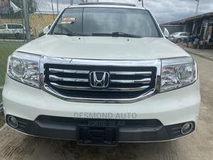 Honda Pilot 2014 White | Cars for sale in Lagos State, Surulere
