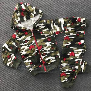 2pc Camouflage Hoodie Outfit | Children's Clothing for sale in Abuja (FCT) State, Jabi