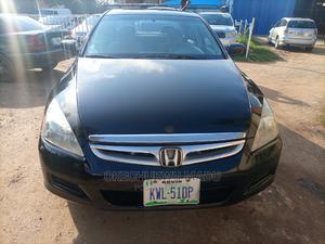 Honda Accord 2007 2.4 Exec Automatic Black | Cars for sale in Abuja (FCT) State, Garki 2