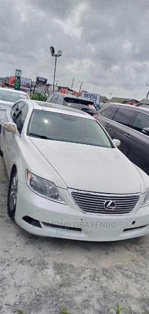 Lexus LS 2007 460 Luxury Sedan White | Cars for sale in Lagos State, Ajah