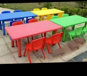 Rectangular Plastic Table   Children's Furniture for sale in Lagos State, Lagos Island (Eko)