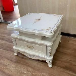 Imported Executive Royal Sofa Center Table$ Inbuilt Drawer   Furniture for sale in Lagos State, Maryland