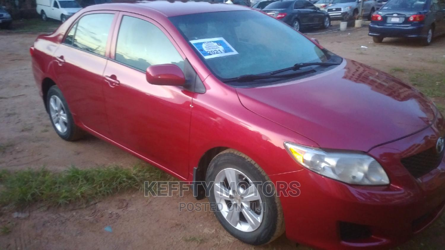 Toyota Corolla 2010 Red | Cars for sale in Central Business District, Abuja (FCT) State, Nigeria